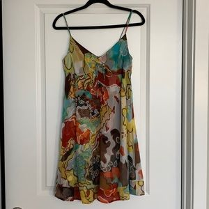 Multi Colored Diane Von Furstenberg Sun Dress